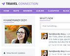 Responsive Allure Theme purple